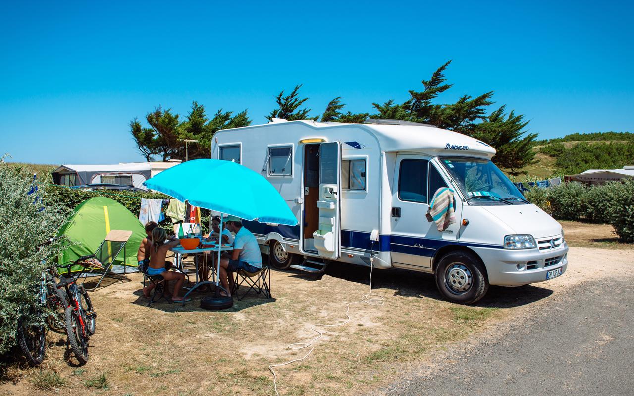Camping chadotel la dune des sables aires de camping car - Les sables d olonne office de tourisme ...
