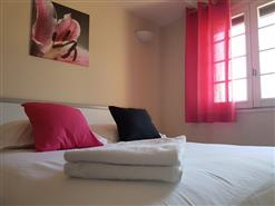 Chambre double rose