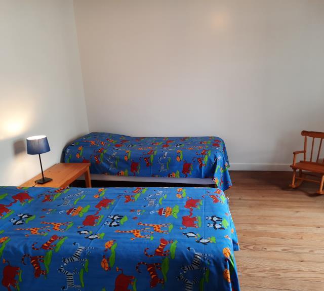 Chambre 2 lits 80