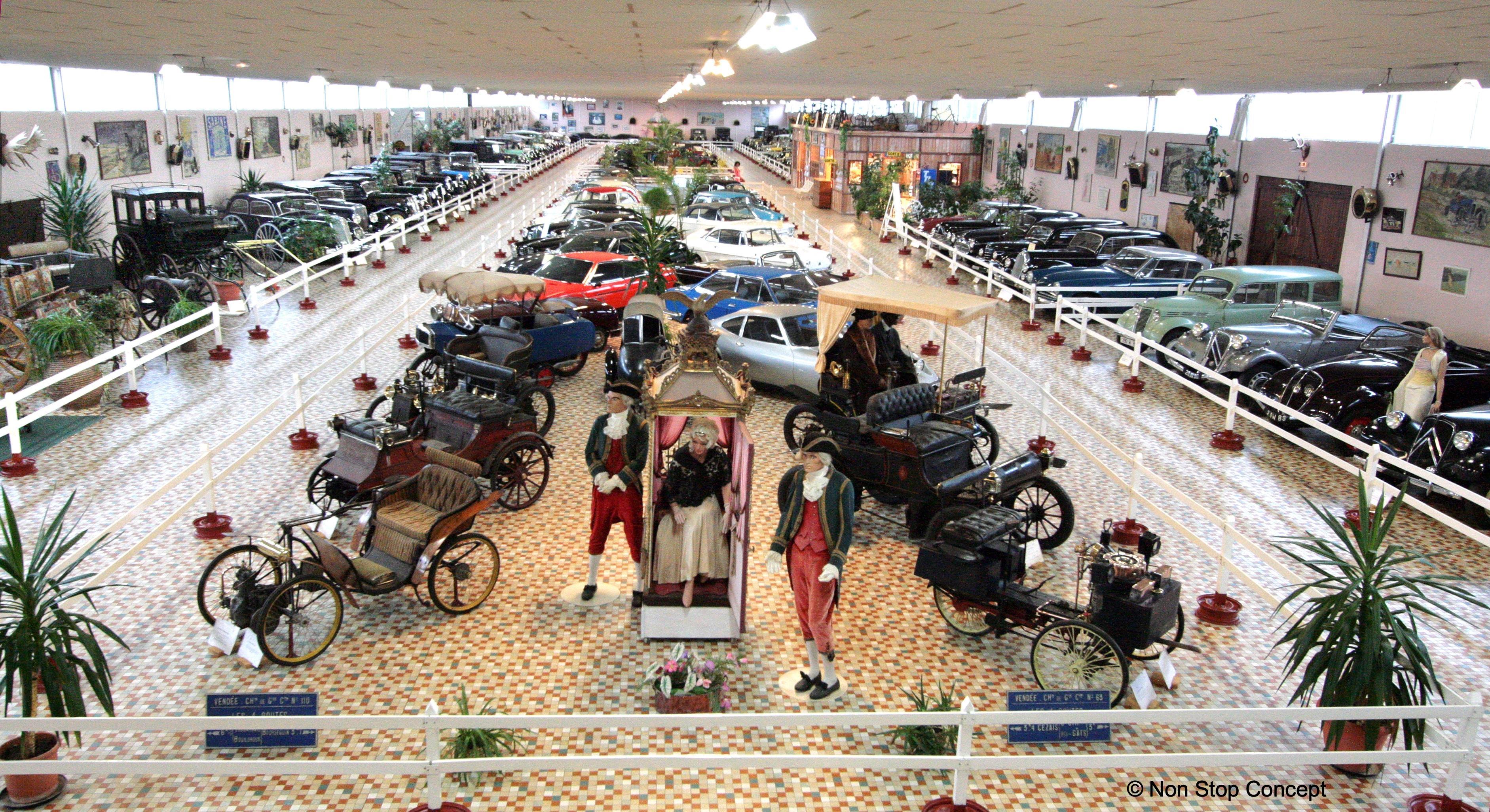 Musée Automobile De Vendée Sites Touristiques Talmont Saint